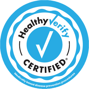 HealthyVerify Certified